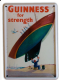 Guinness Boat metal postcard / mini sign  (hi) (1)